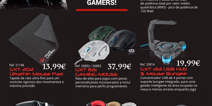 Trust Gaming – Acessórios para verdadeiros GAMERS!