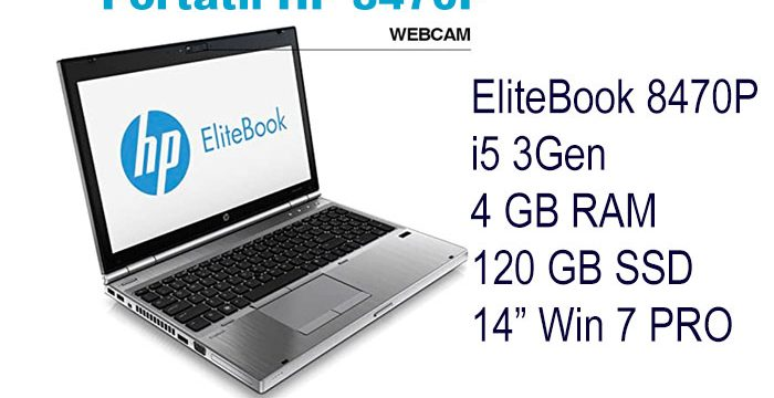 ?HP 8470P com Webcam″?
