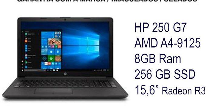 ?Novo Selados HP 250 G7?