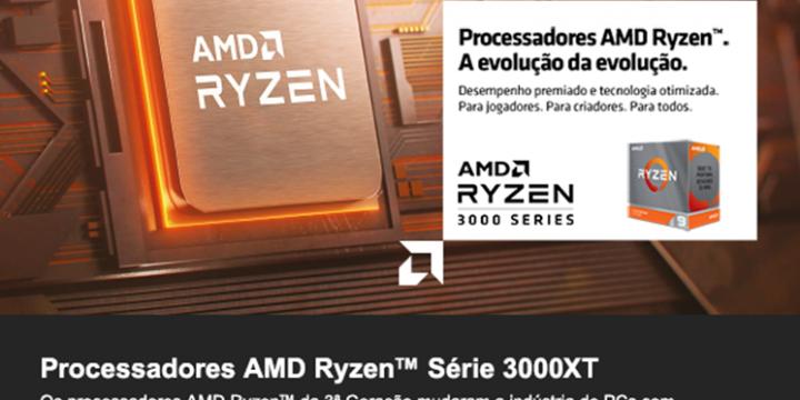 Processadores AMD Ryzen 5 Série 3000!